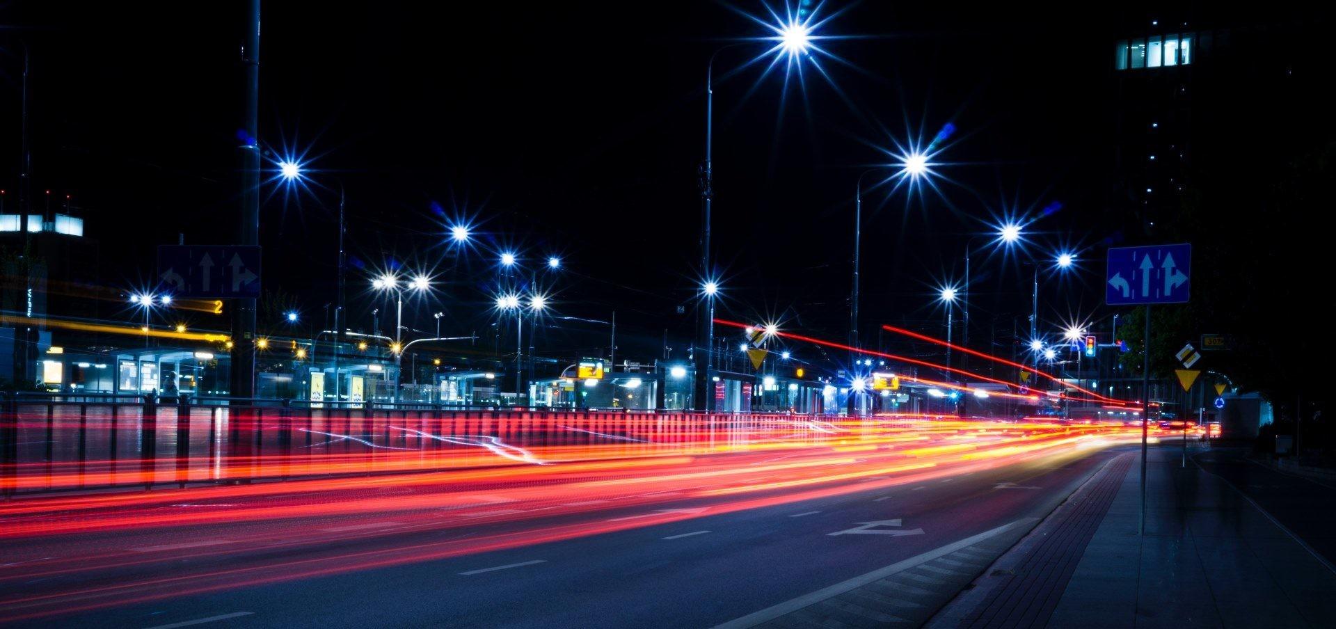 STREET LIGHTING in Doha Qatar