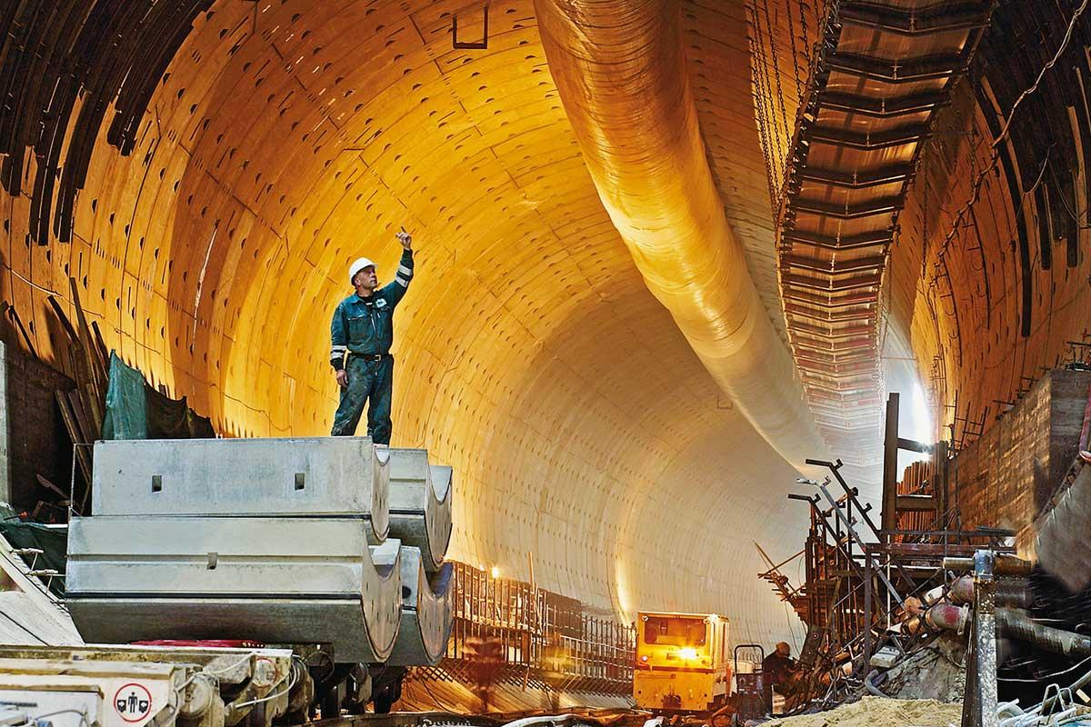 tunnels contracting in Doha Qatar