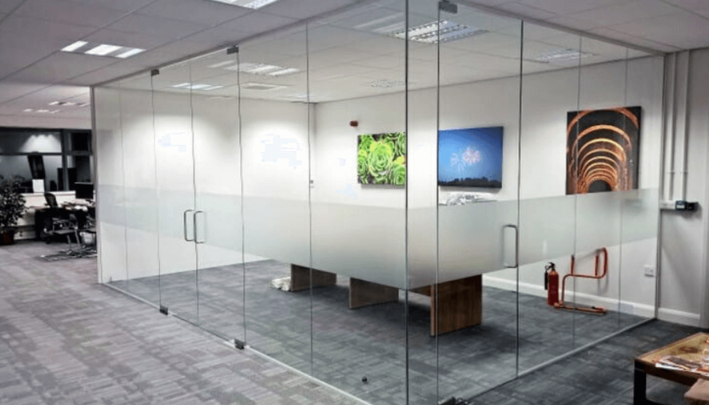 Partitions in Doha Qatar